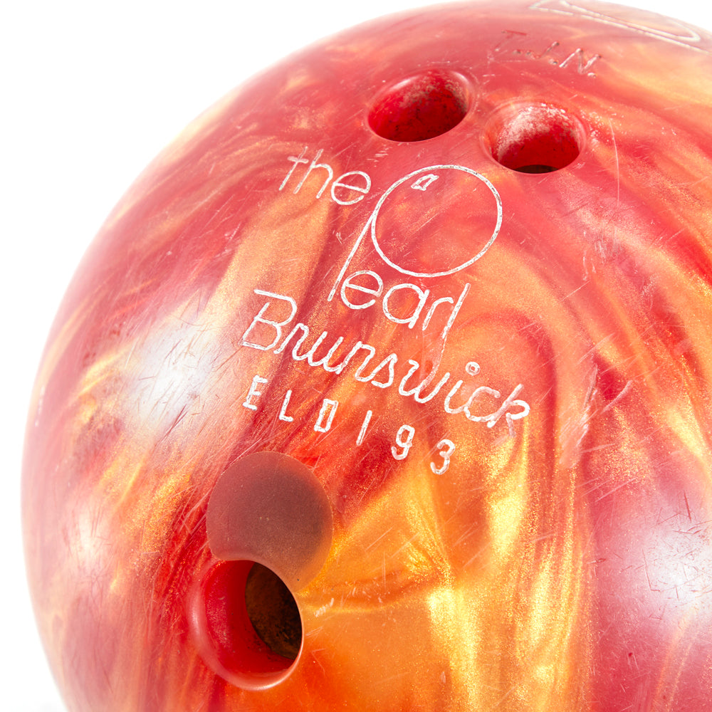 Fire Brunswick Bowling Ball