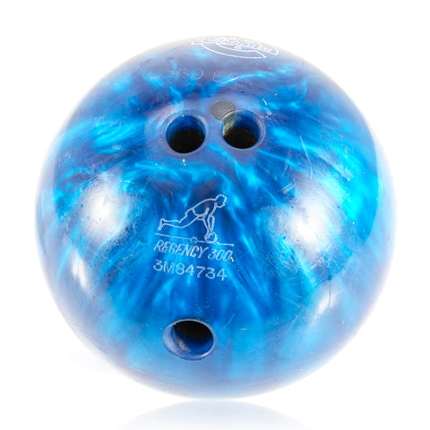 Blue Marbled Regency Bowling Ball