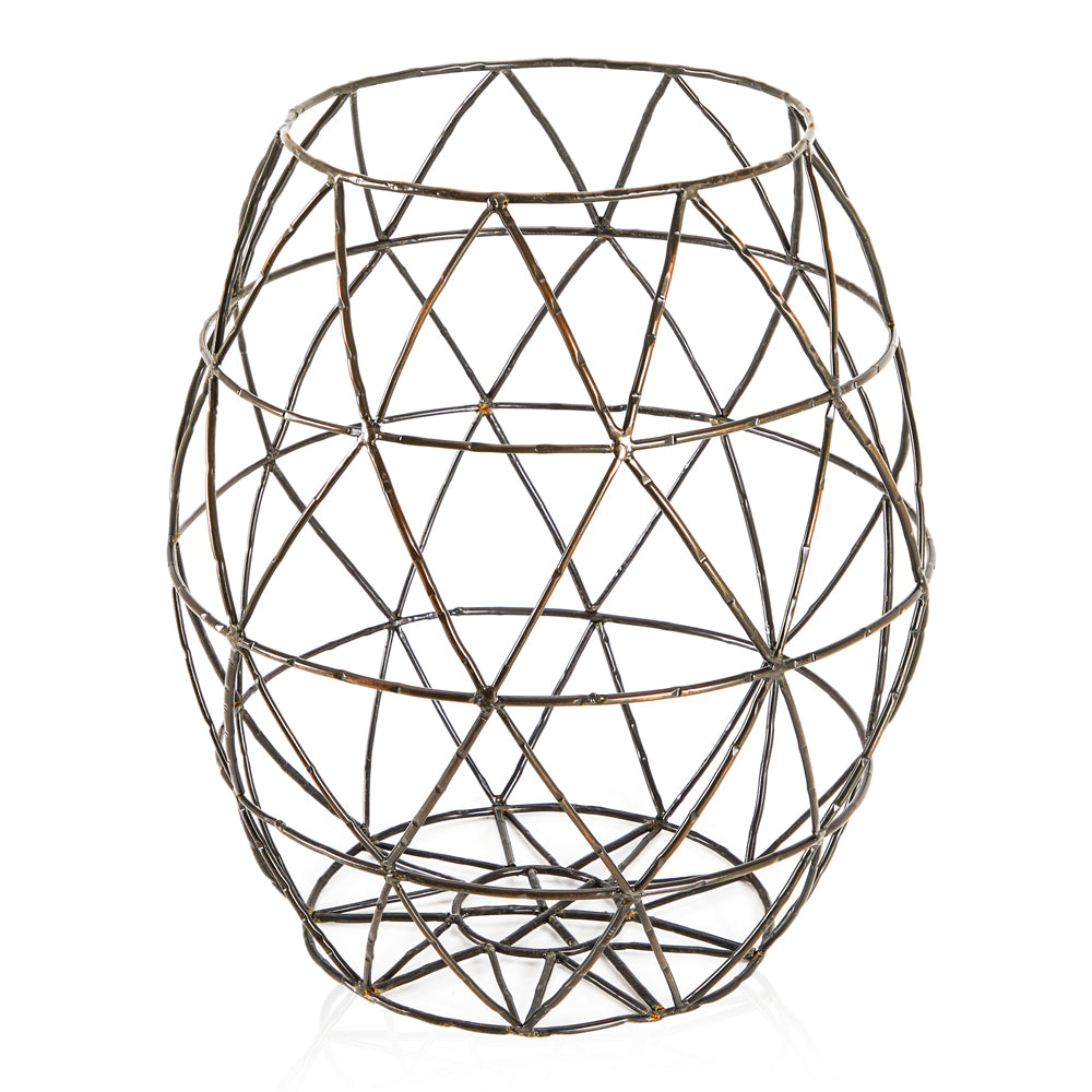 Tall Metal Wire Basket