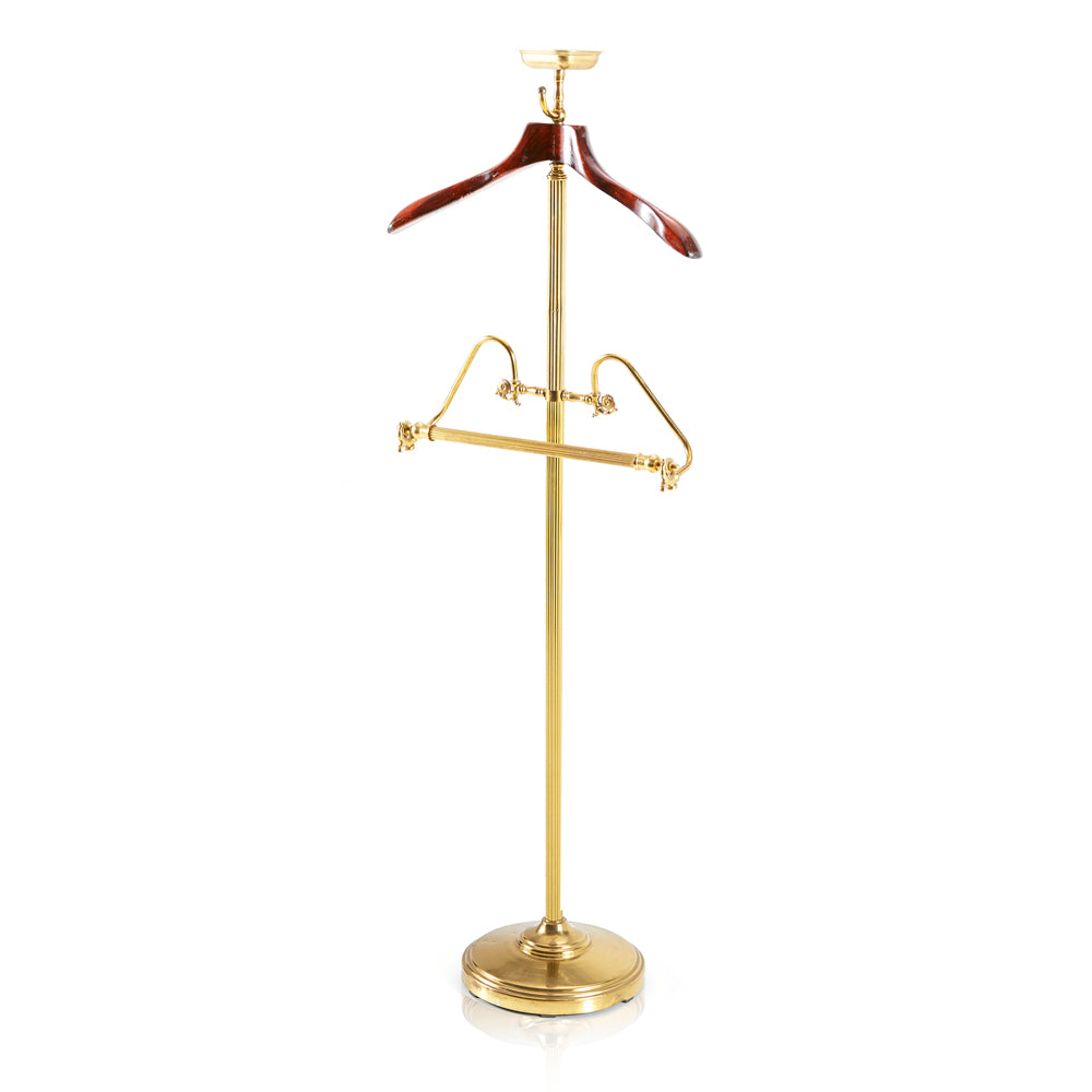 Gold Suit Stand