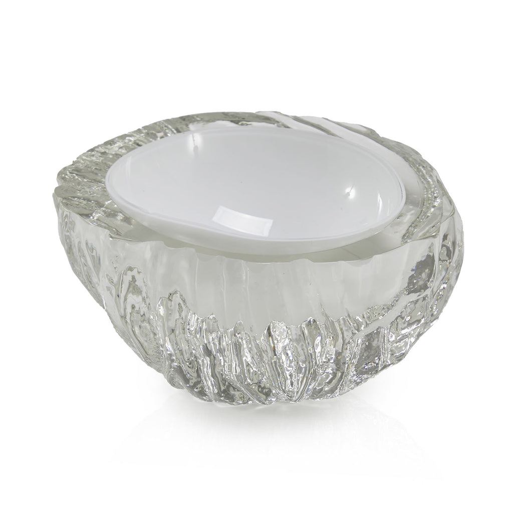 Glass Ice Bowl Ashtray