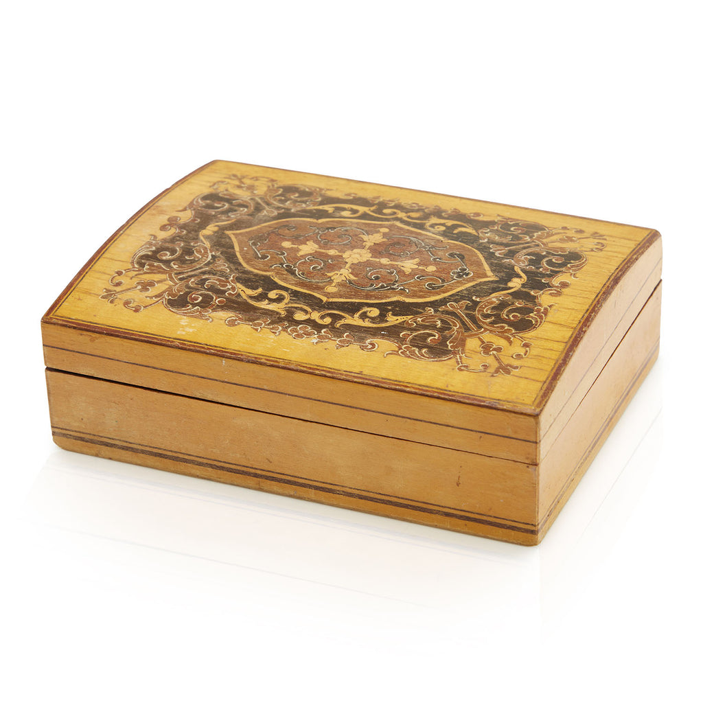 Wood Cigar Box Set
