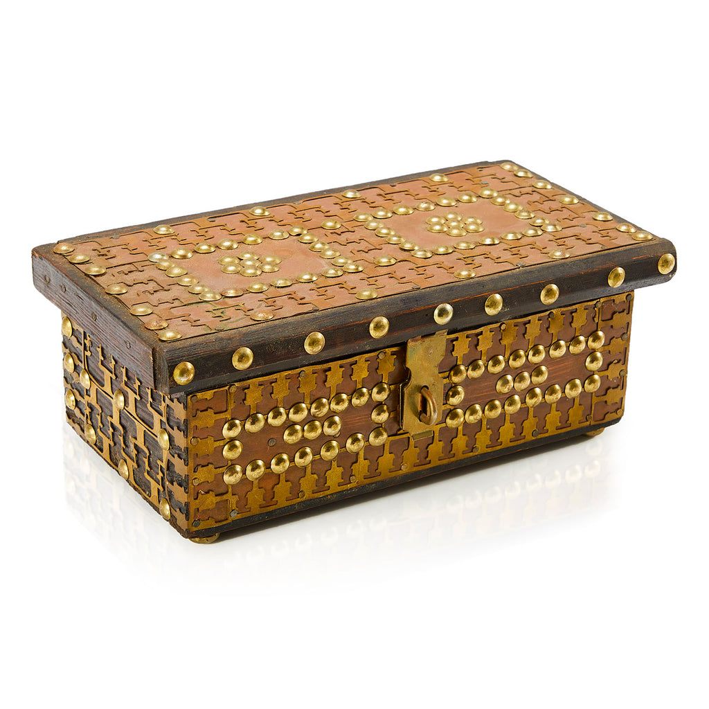 Gold Lock Box