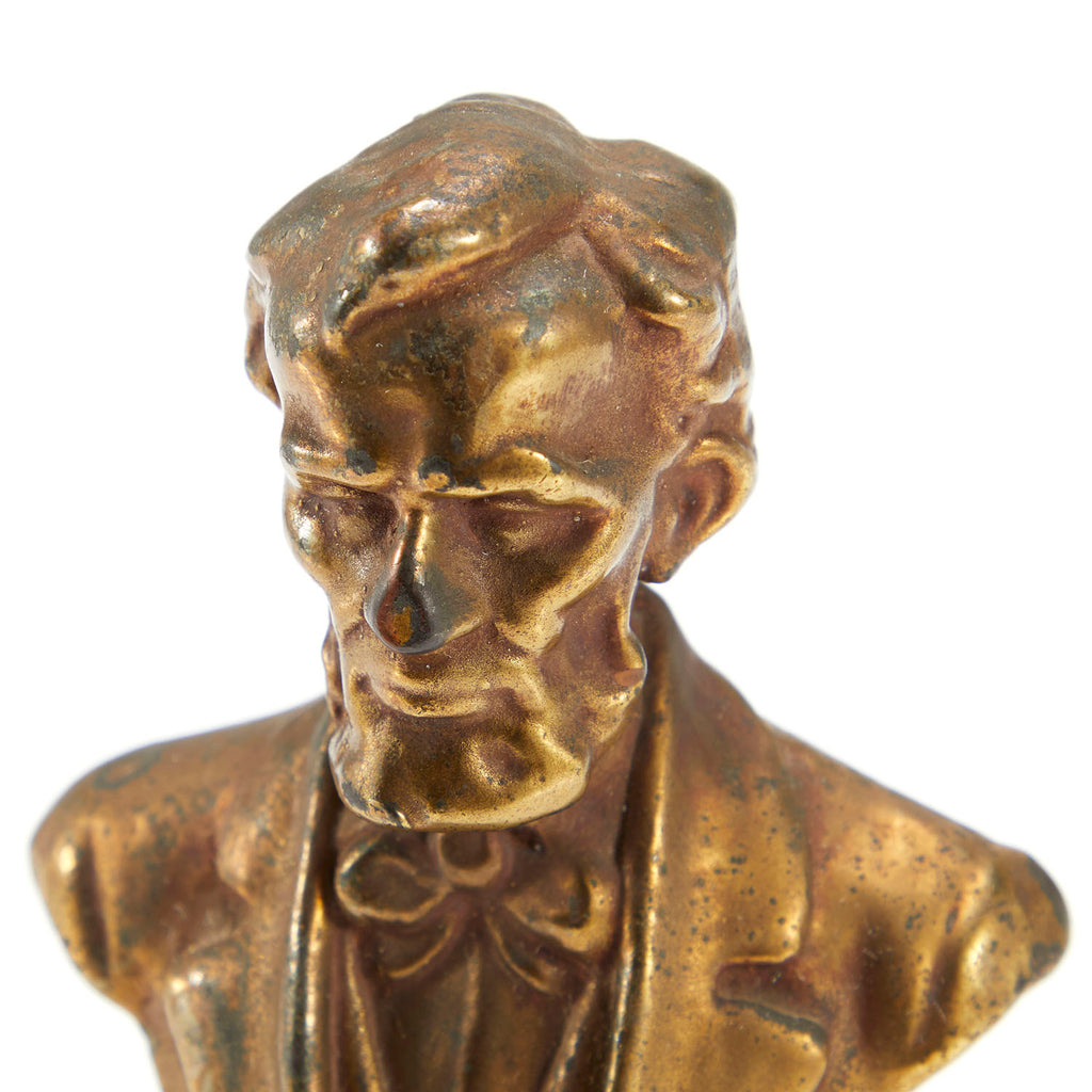 Small Bronze Abraham Lincoln Bust