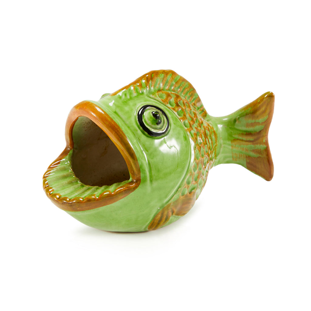 Green Fish Ashtray