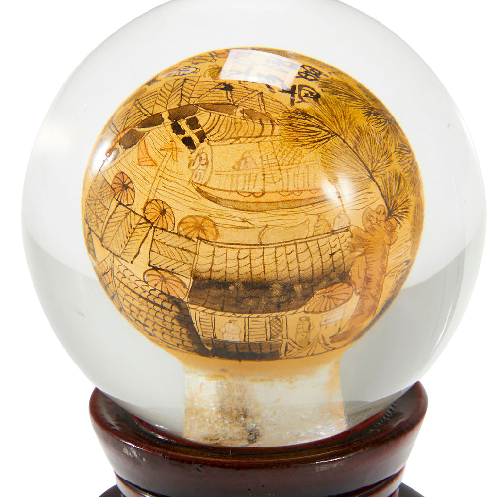 Glass Table Globe