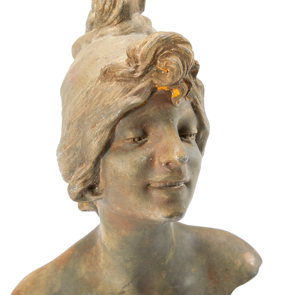 Art Nouveau Female Bust