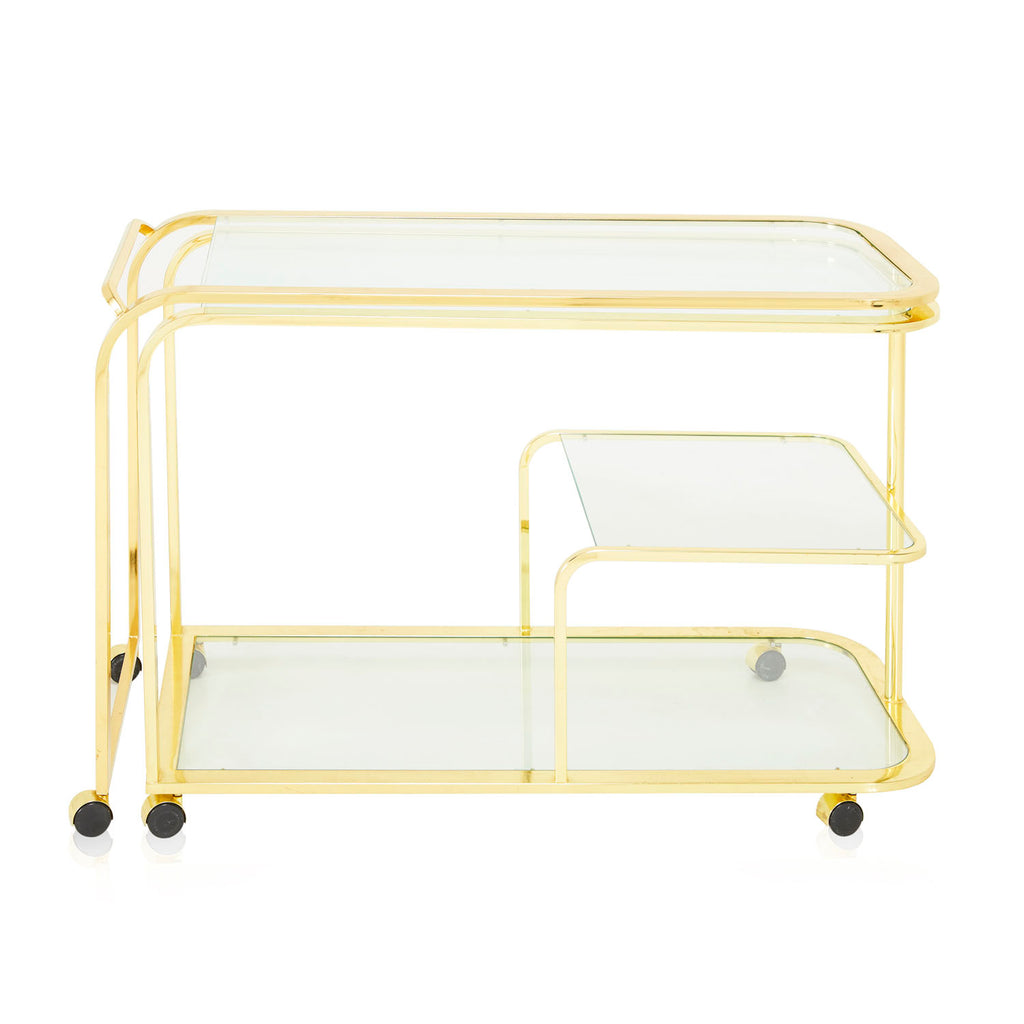 Gold Expanding Mobile Bar