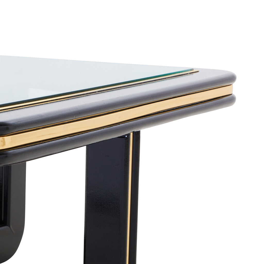 Black Lacquer Coffee Table