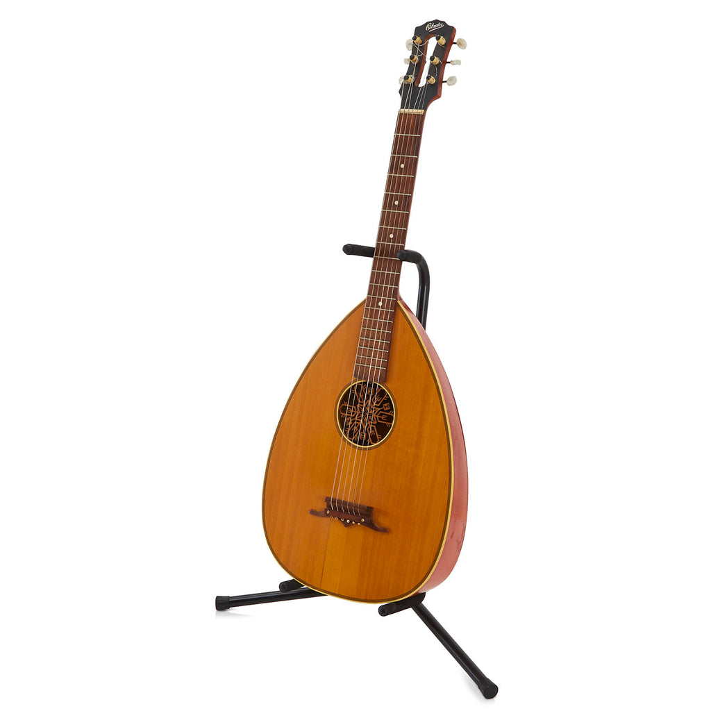 Natural Wood Acoustic Lute Guitar