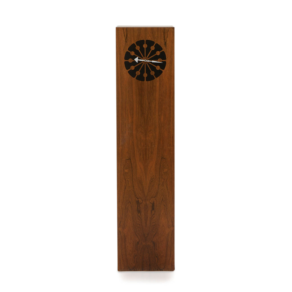 Danish Wood Rectangle Standing Floor Clock