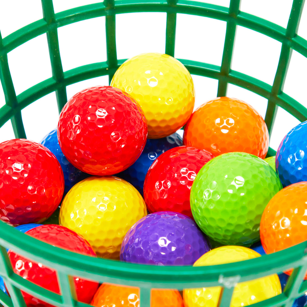 Multicolor Golf Balls