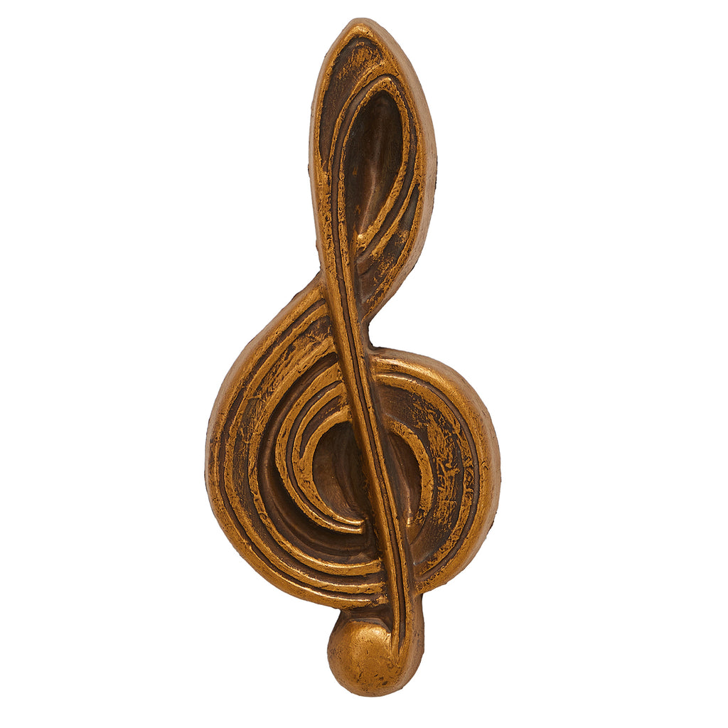 Wood Musical Note Wall Hanging