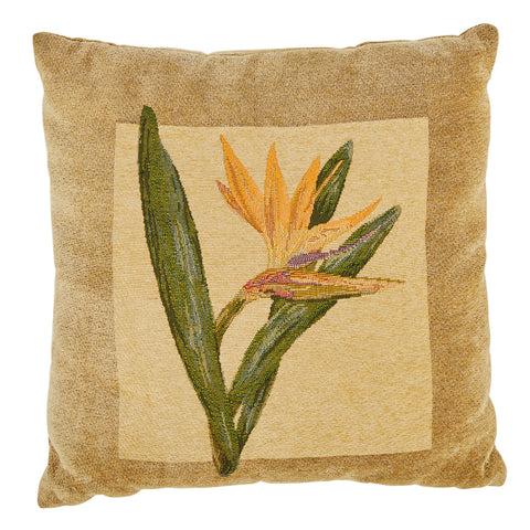 Bird of Paradise Flower Pillow