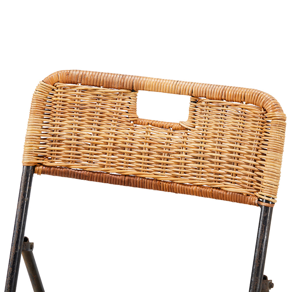 Rattan Outdoor Folding Chair