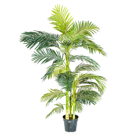 Faux Bamboo Palm Tree