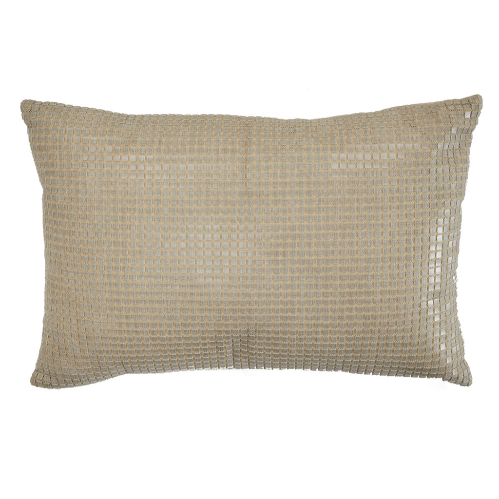 Beige Tiny Tiles Pillow