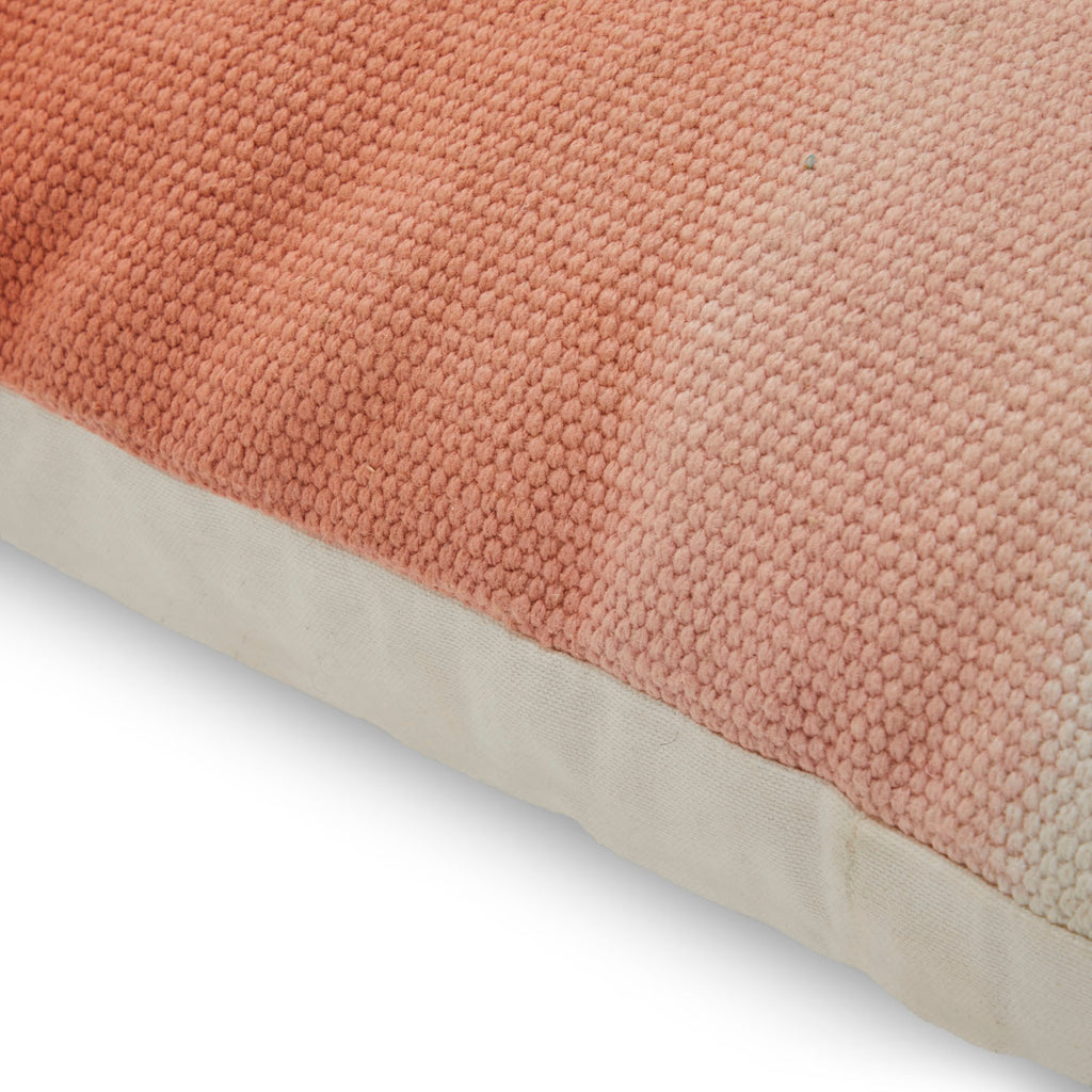 Peach Tan Gradient Pillow