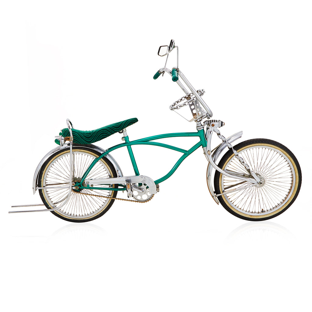 Lowrider Bicycle - Dark Green