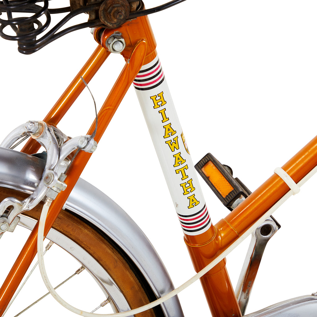 Hiawatha Orange Bike