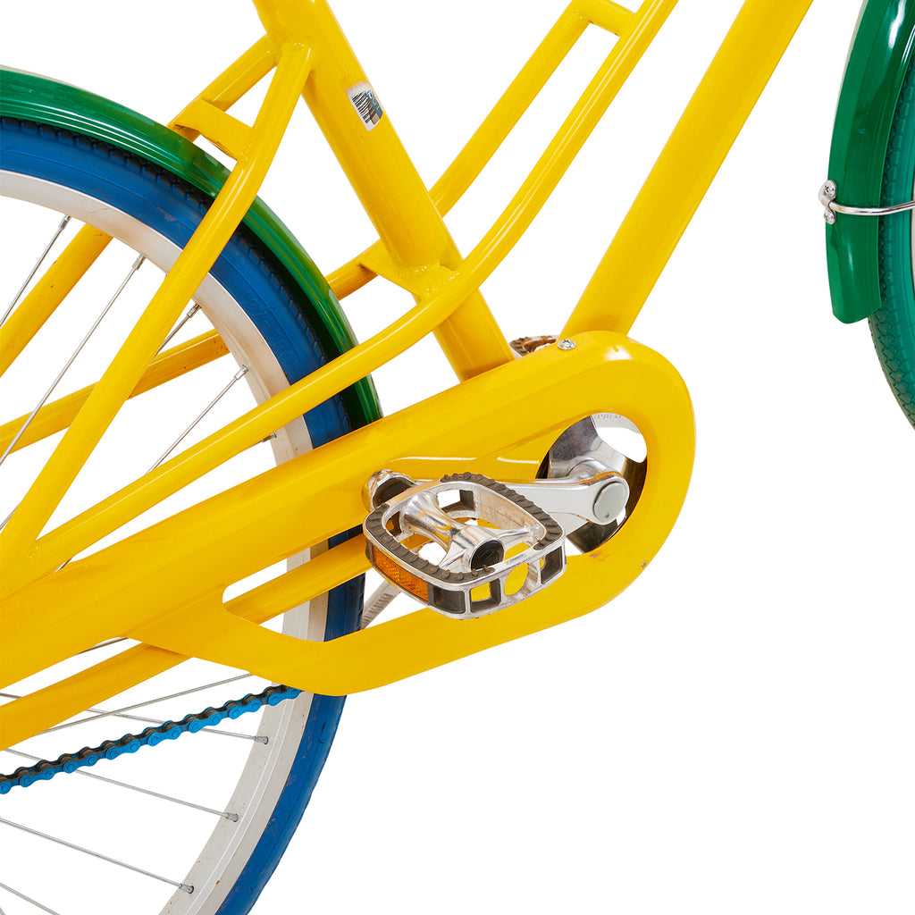 Multi Colored Beach Cruiser Bicycle