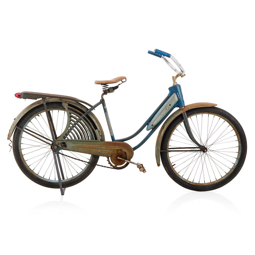 Elgin Blue Rustic Beach Cruiser