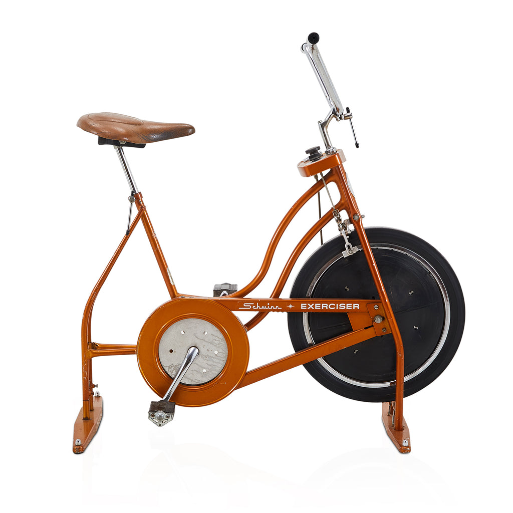 Orange Exercise Bike