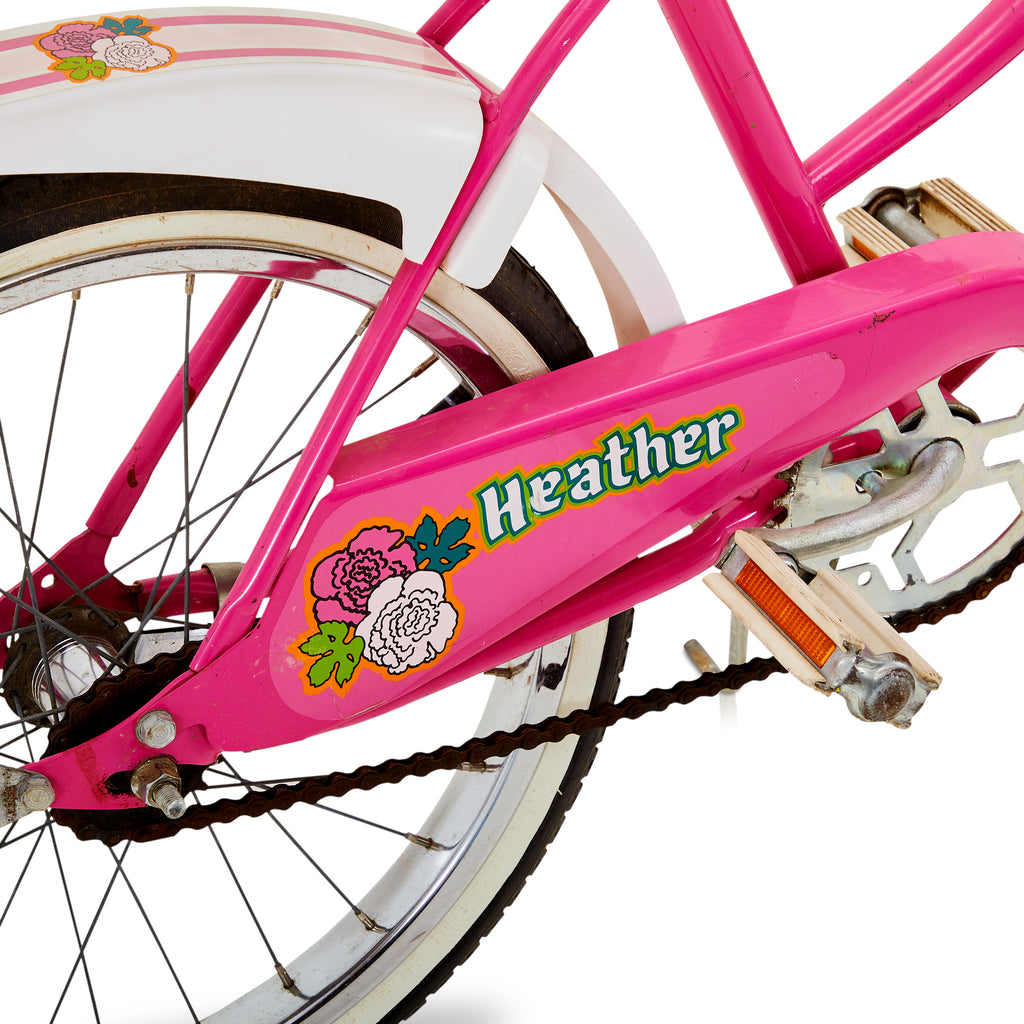 Pink Stingray Style Bike