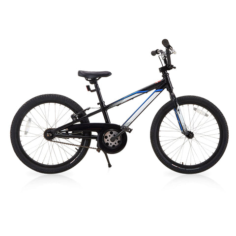 Kids BMX Bike - Black and Blue