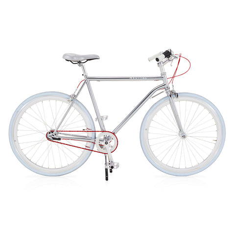 Martone Bike with Silver Frame