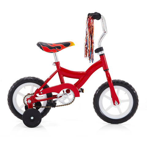 Fire Red Kid's Bike