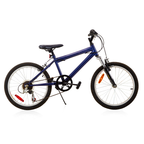Blue + Black 6-Speed Bicycle