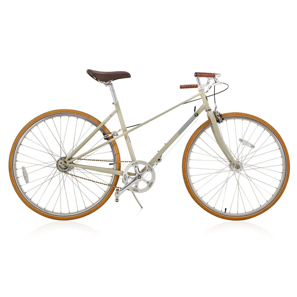 Cream Casual Street Bicycle