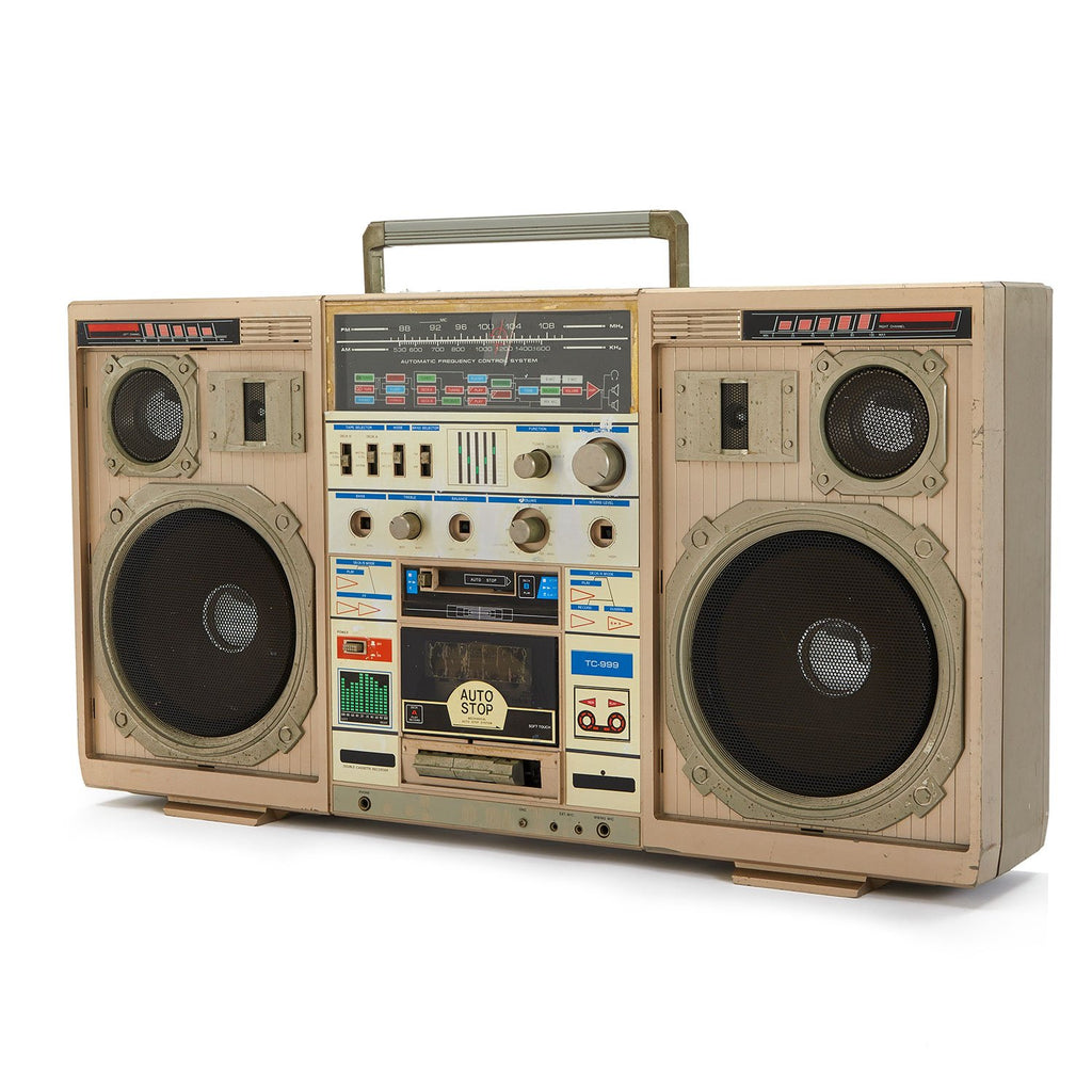Conion Boombox with Microphone