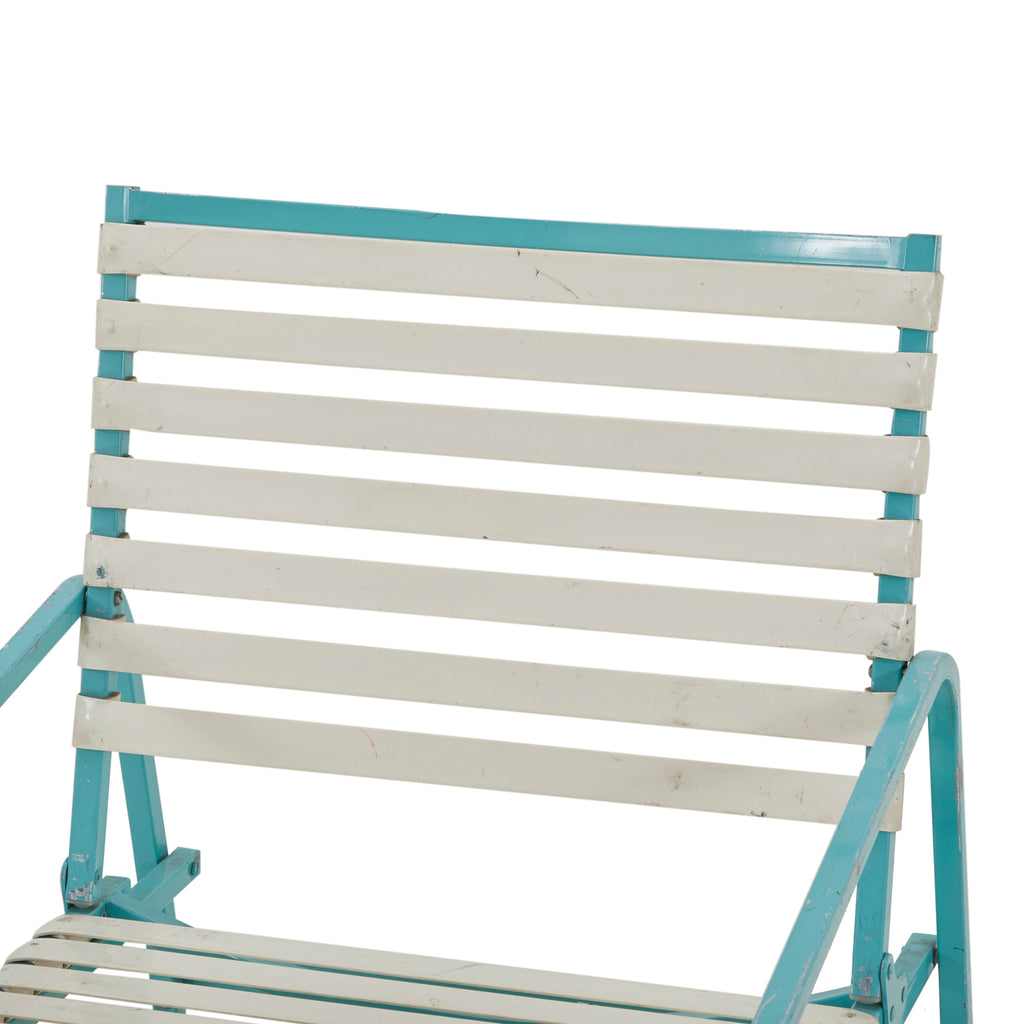 Aqua Patio Lounge Chair