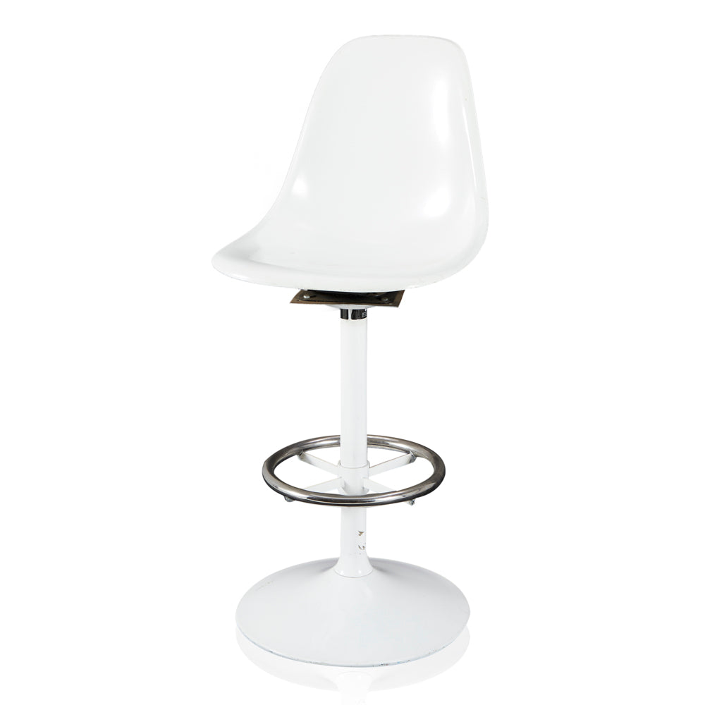 Saarinen Side Chair Tulip Barstool - White