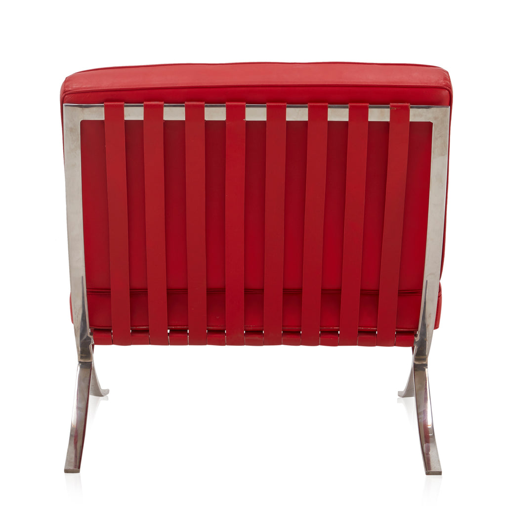 Barcelona Lounge Chair - Red