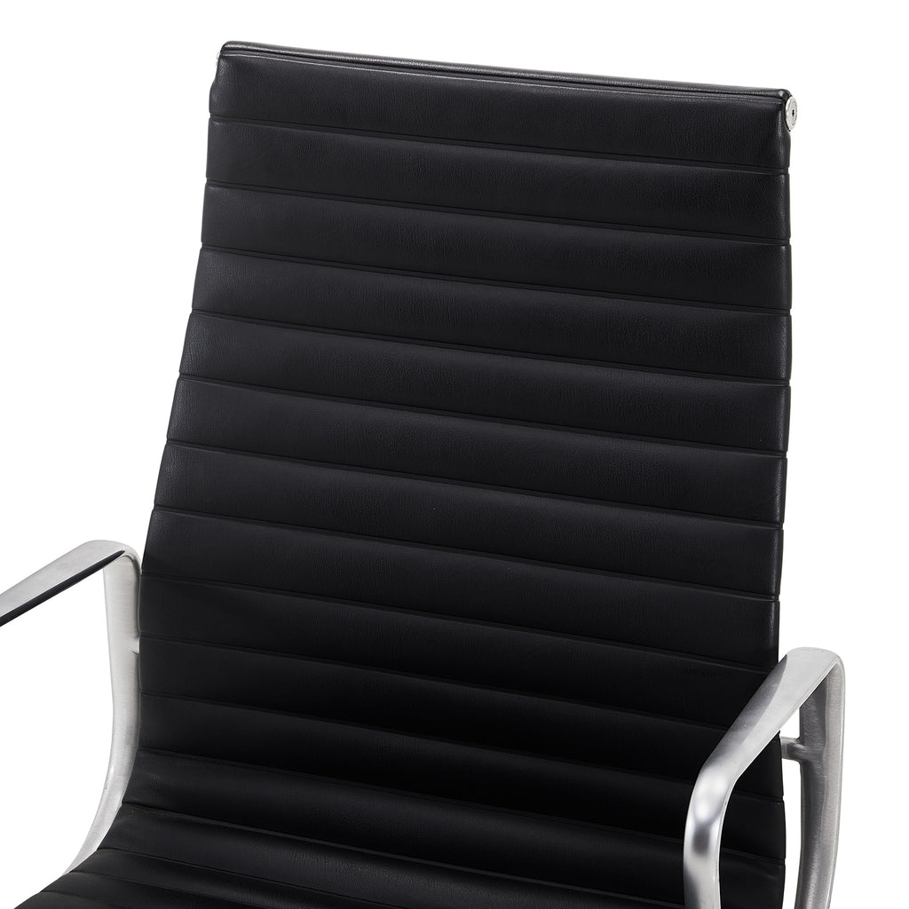 Aluminum Group Executive Chair - Black