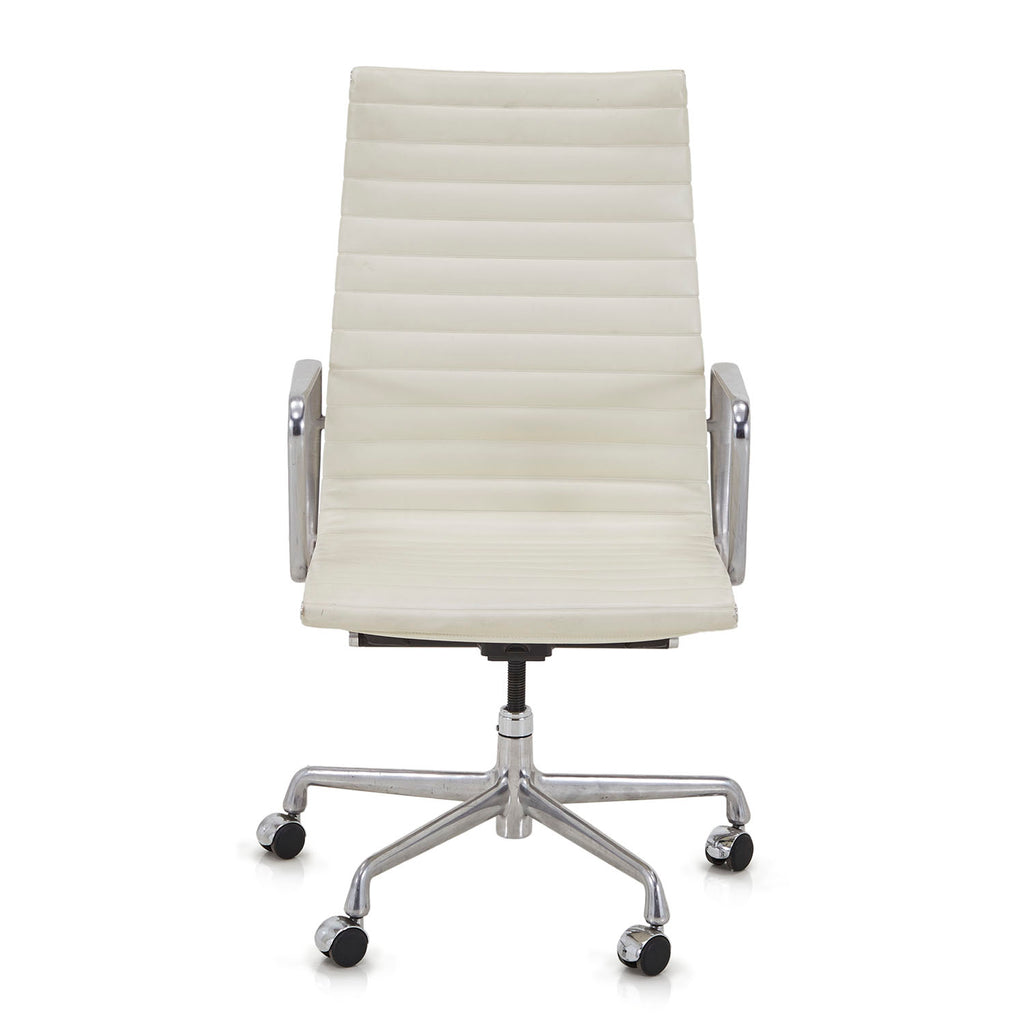 Aluminum Group Executive Chair White