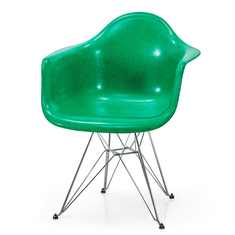 Arm Shell Chair with Eiffel Base