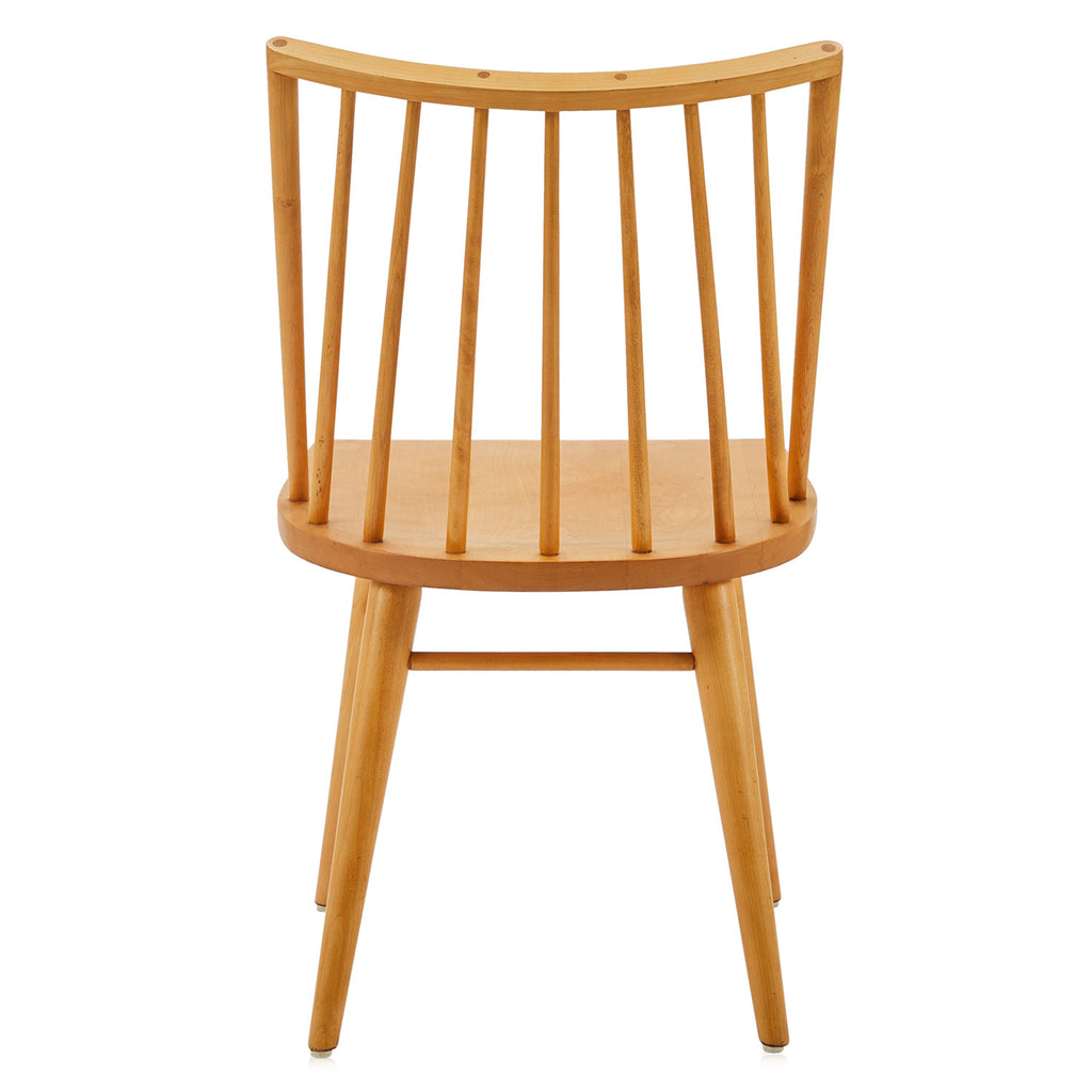 Wood Dining Chair - Curved Back