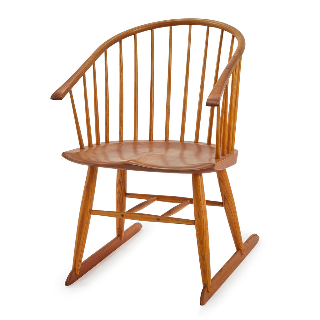 Spindle Back Wood Dining Chair