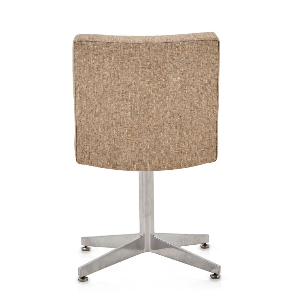 Aluminum Base Chair - Beige