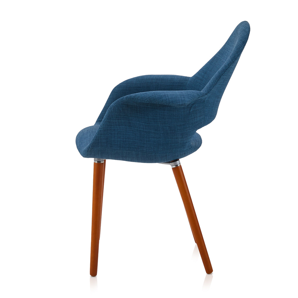 Blue Modway Aegis Arm Chair