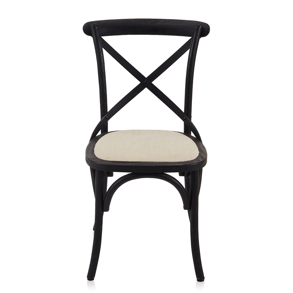 Black Bistro Dining Chair