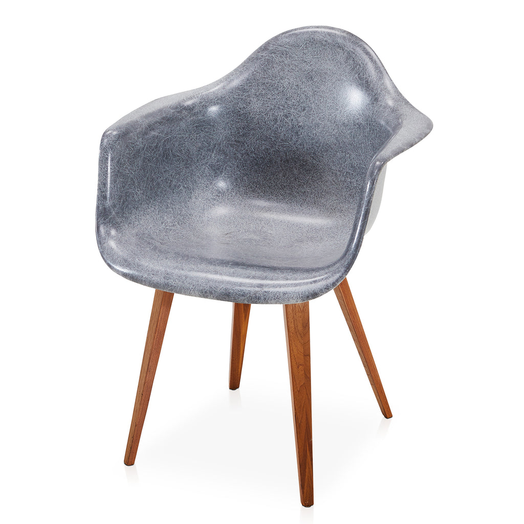 Arm Shell Chair with Wood Legs