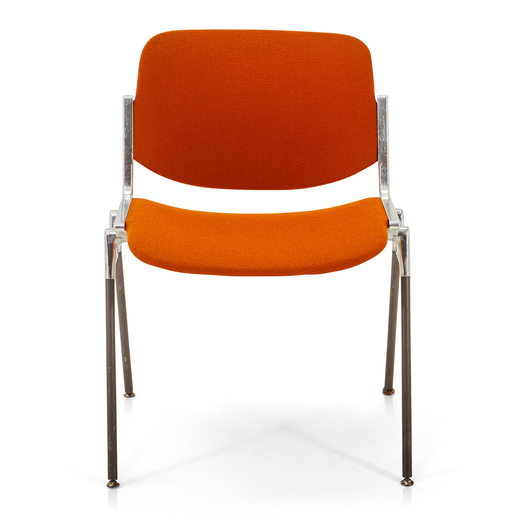 Orange Retro Waiting Room Chairs