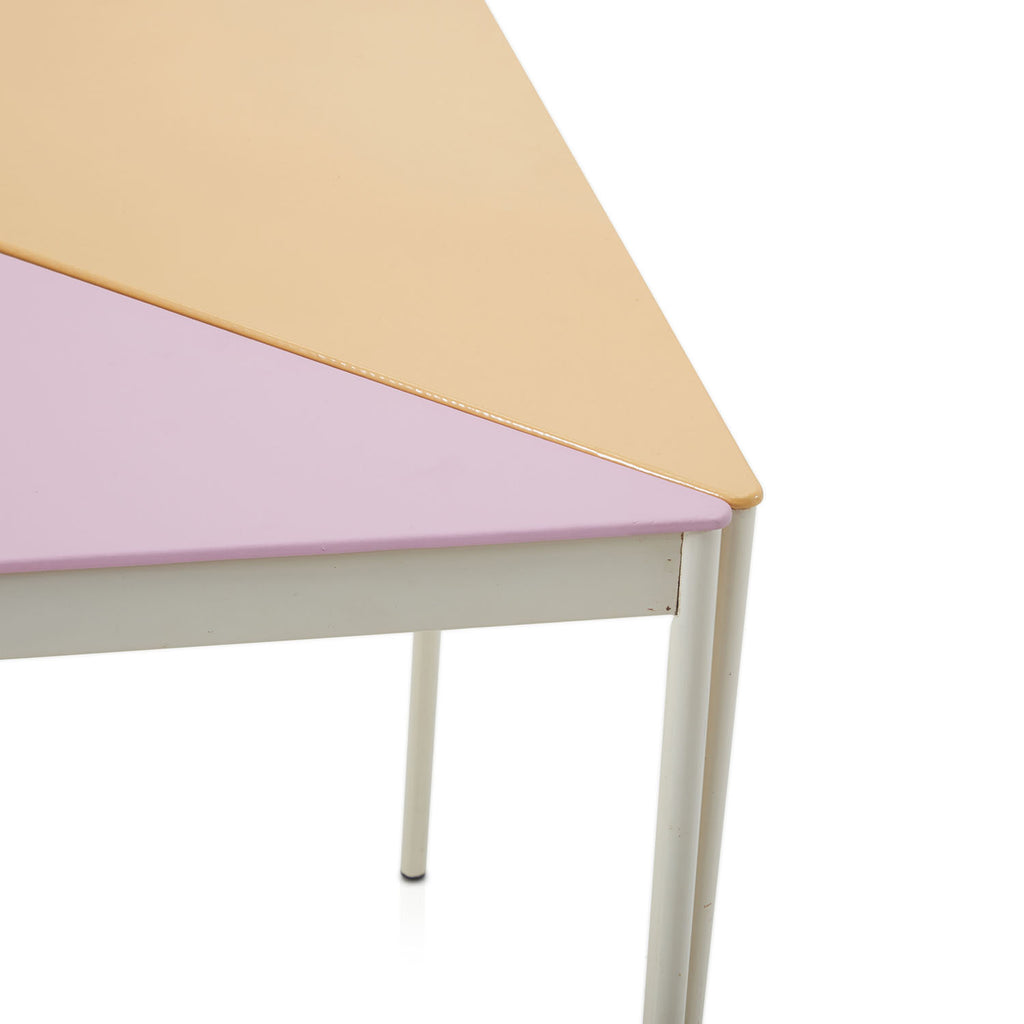 Multicolored Triangle Side Tables