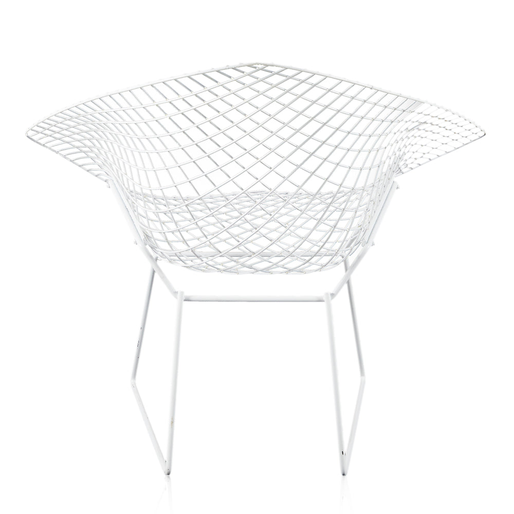 Bertoia Diamond Chair - White