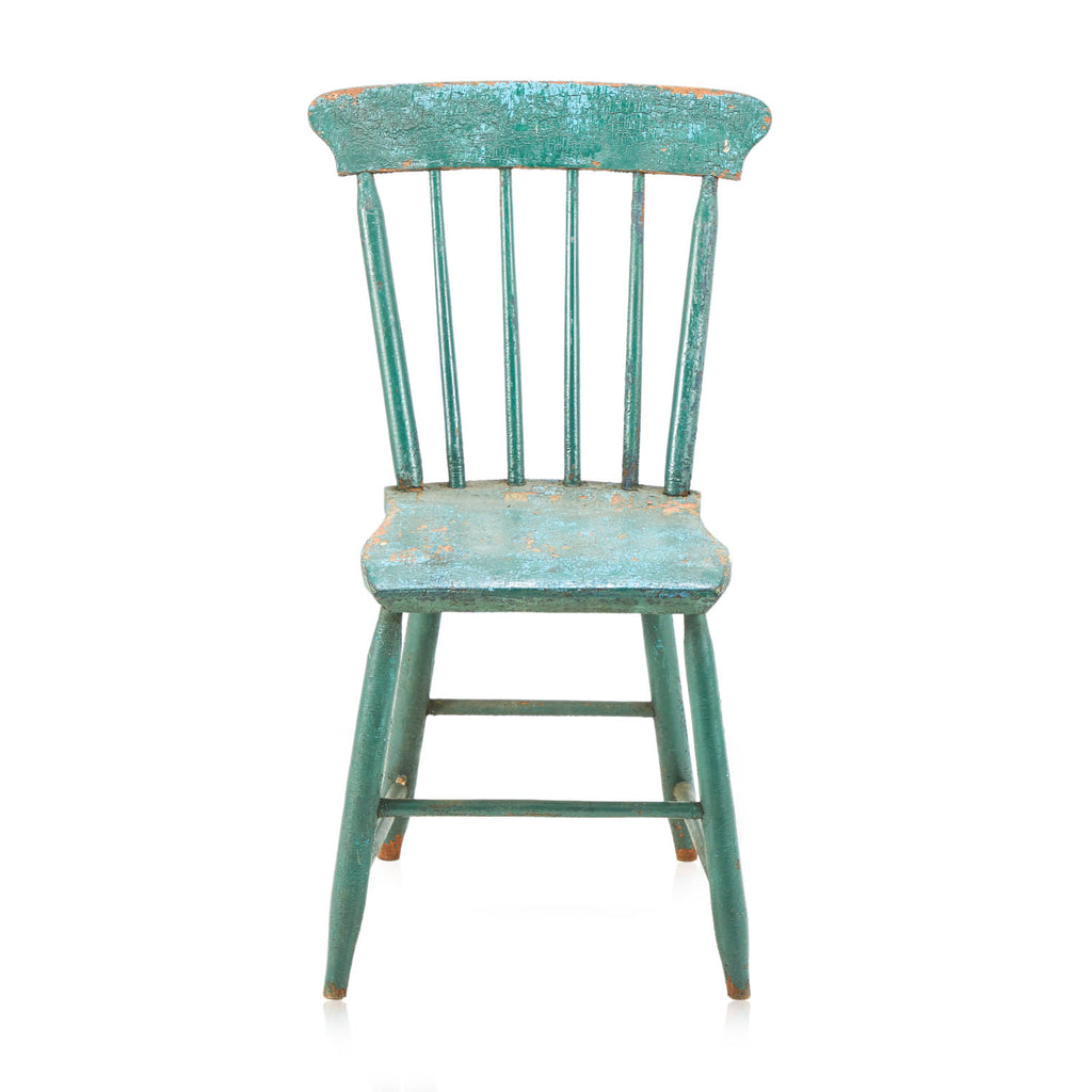 Rustic Farmhouse Dining Chair - Green